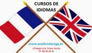 Clases particulares de idiomas inglés y francés en la Academia en Sevilla CEGA entre triana y los Remedios
