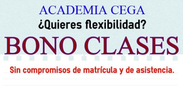 Formación y ahorro en la Academia CEGA en Sevilla.