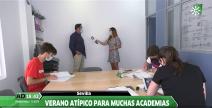 Andalucía Directo visita la Academia CEGA en Triana, Sevilla.